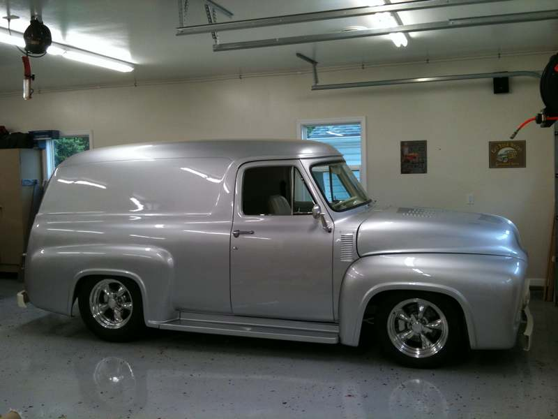 1955 Ford Panel Truck Upholstery Frederick MD