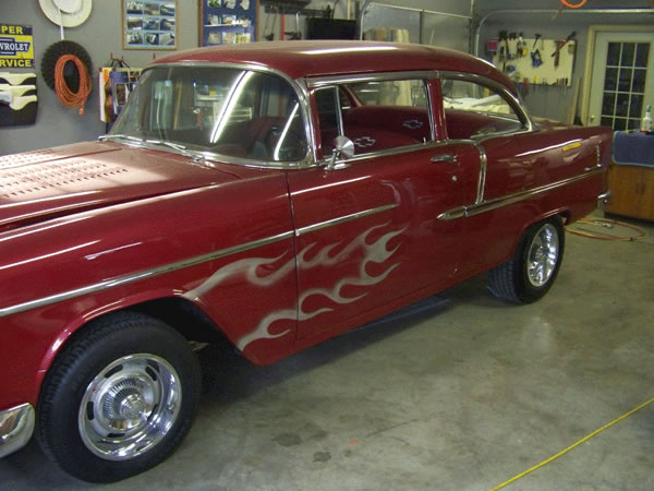 55 Chevrolet Upholstery Frederick MD
